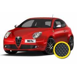 Coprisedile Su Misura Alfa Romeo Mito Nero Puntin.
