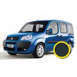Coprisedile Su Misura Fiat Doblo 2000-2010 Nero