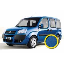 Coprisedile Su Misura Fiat Doblo 2000-2010 Blu