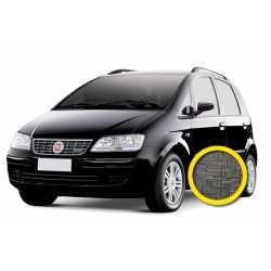 Coprisedile Personalizzato Fiat Idea Grigio