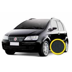 Coprisedile Personalizzato Fiat Idea Nero
