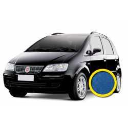 Coprisedile Personalizzato Fiat Idea Blu