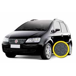 Coprisedile Su Misura Fiat Idea Grigio Scuro