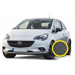Coprisedile Su Misura Opel Corsa Grigio Scuro