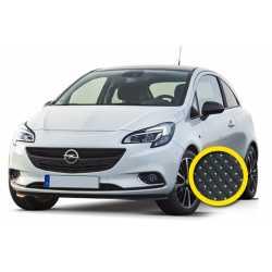 Coprisedile Su Misura Opel Corsa Nero Puntinato