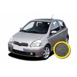 Coprisedile Su Misura Toyota Yaris Grigio