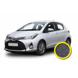 Coprisedile Su Misura Toyota Yaris Grigio Scuro
