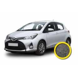 Coprisedile Su Misura Toyota Yaris 2017 Grigio