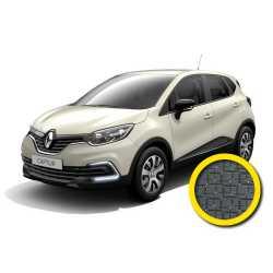 Coprisedile Su Misura Renault Captur Grigio Scuro