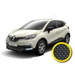 Coprisedile Su Misura Renault Captur Nero Puntin.