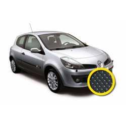 Coprisedile Su Misura Renault Clio Iii Nero Punti.