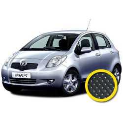 Coprisedile Su Misura Toyota Yaris Nero Puntinato